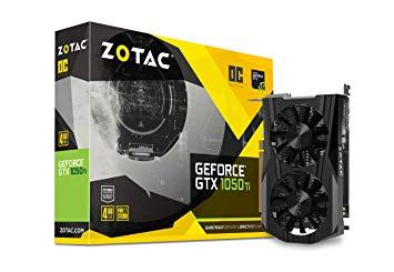 Tarjeta Gráfica nVidia ZOTAC GTX1050Ti OC 4GB DDR5