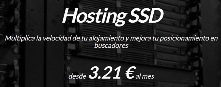 hosting SSD ultra rápido