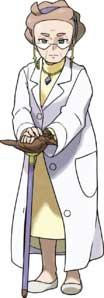 pokémon espada y escudo Profesora Magnolia