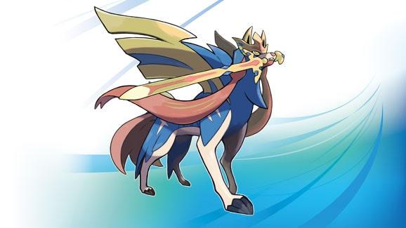 Pokemon espada- Zacian