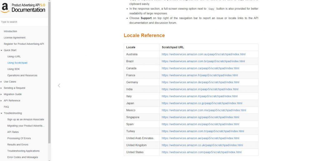 API de Publicidad de productos