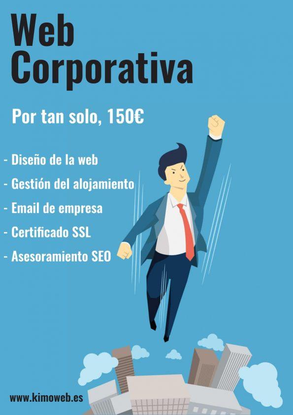 diseño de página web corporativa en Almería